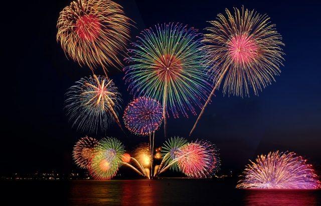 ※2018年中止※ 広島【宮島水中花火大会】☆子連れに最適☆穴場スポット