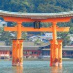 厳島神社(宮島)海に浮かぶ大鳥居まで子供と一緒に歩いてみよう♪