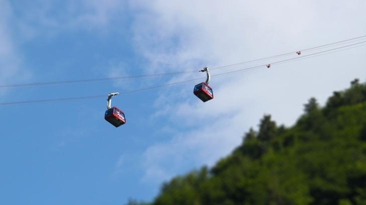 宮島ロープウェイでサルもいる展望台へ子供と空中散歩!割引方法は?